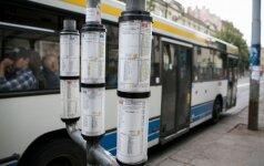 Vilniuje gali vėluoti viešasis transportas, įspėja savivaldybė