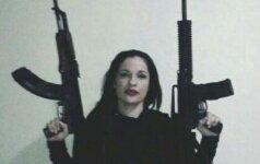 Meksikos narkotikų karai: žudymo manijos apimtą narkobaronę išdavė jos mylimasis
