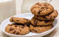 Žemės riešutų sausainiai – BE MILTŲ