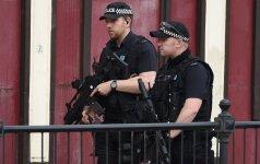 Britanijos policija suėmė aštuonis įtariamuosius, siejamus su Mančesterio teroro aktu