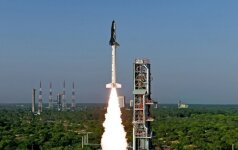 Indijoje sėkmingai išbandytas nedidelis erdvėlaivis
