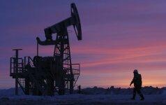 Naftos kainos mažėja