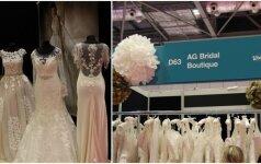 Vestuvių parodoje Londone – ir lietuvės kurtos suknelės