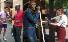 Sealas ir gatvės muzikantai