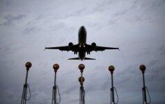 Ignoruojama problema kirs per skrydžių laiką