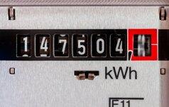 Kaip sutaupyti elektros energijos tamsiuoju metų laiku?