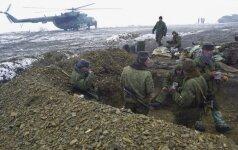 Čečėnijoje užpultas Rusijos nacionalinės gvardijos objektas, žuvo kovotojų ir karių