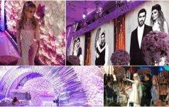 Žadą atimančios vestuvės Rusijoje už 2 miln. dolerių – svečiai pasijuto tarsi stebuklų šalyje