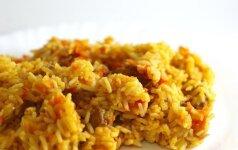 Savaitgalio pietums: autentiškas plovo receptas