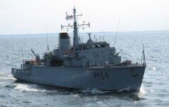 """Karinės jūrų pajėgos treniruosis pratybose """"Kormoranas"""