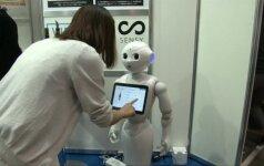 Dirbtinio intelekto parodoje - someljė pareigas einantis robotas ir kūrybiškumo matuoklis