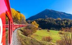 Aplink pasaulį traukiniais: pribloškiantys vaizdai ir jokių turistų