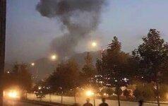 Išpuolis prieš JAV universitetą Kabule: nugriaudėjo sprogimas, aidi šūviai