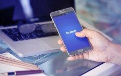 """""""Facebook"""" vartotojų skaičius perkopė 2 milijardus"""