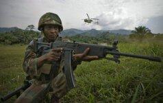 Konge į nelaisvę pateko gruzinų karo lakūnas