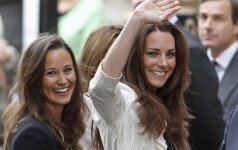 Pippa ir Kate Middleton