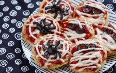 HELOVINUI: šiurpios mini picos - per 30 minučių