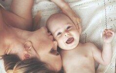 Ko tėvai labiausiai pasiilgsta gimus kūdikiui?