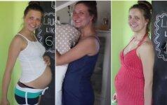 Agnė savo nėštumą įamžino originaliai – pamatykite patys VIDEO