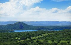 Nikaragvoje į veikiantį ugnikalnį kritę argentinietis ir jo gidas liko gyvi ir net puikiai jaučiasi