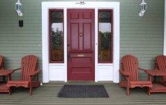Patarimai, kaip dažyti kompozitines duris
