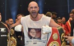 Ekscentriškas boksininkas Tysonas Fury prabilo apie savo lytinę orientaciją