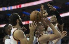 Starto penkete rungtyniavęs D. Sabonis karjerą NBA pradėjo pergalingai