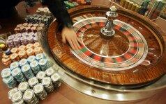 Vyriausybė griežtina azartinių lošimų tvarką