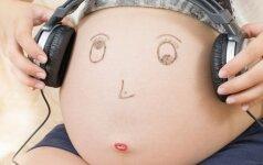 Muzikos terapija būsimoms mamoms - dviguba nauda