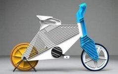 """Greitoms kelionėms – perdirbto plastiko dviračiai """"Frii"""""""