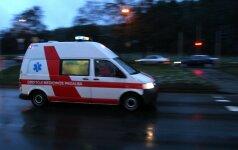 Naktį, įtariama, sumuštą 7 mėnesių mergytę ištiko klinikinė mirtis
