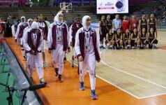 Kataro moterų rinktinė dėl FIBA draudimo dėvėti hidžabus paliko Azijos žaidynes