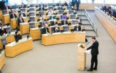 Siūloma kriminalizuoti vykimą į užsienį teroristiniais tikslais