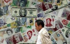 Sumažintas Kinijos kredito reitingas