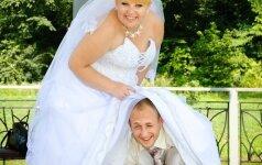 Geriau to nekartokite: 24 juokingiausios vestuvinės nuotraukos