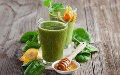 KOKTEILIS: vitaminų bomba ir šlakų šluota