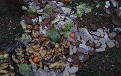 Maisto atliekomis nesibodima atsikratoma ir saugomose teritorijose