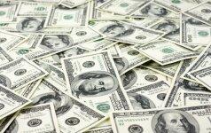 Sąžiningi pirkėjai JAV parduotuvei grąžino rastus 10 tūkst. dolerių
