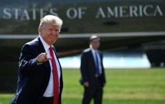 D. Trumpo biudžeto planas: didins išlaidas gynybai, mažins kitose srityse