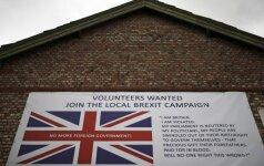 Rekordinis migracijos sukeltas gyventojų prieaugis Britanijoje kursto įnirtingas diskusijas dėl pasitraukimo iš ES