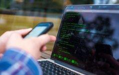 Ukrainos masinė kibernetinė ataka pasiekė Lietuvą
