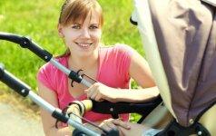 Naudingi patarimai, kaip išsirinkti geriausią vaikišką vežimėlį
