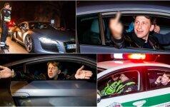 Naktį į policijos komisariatą pristatytas E. Dragūnas: tai, ką daro Lietuvos policija - blogis