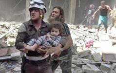Vokietija: Alepo ligoninę atakavo B. al Assado pajėgos