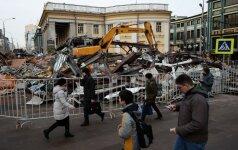 Maskvoje su žeme sulyginta 100 kioskų ir užkandinių