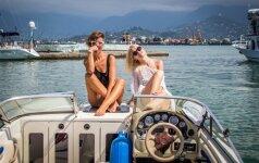 Simona Bandita Batumyje ieškojo nuotykių ir mokėsi bučiuotis