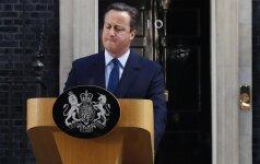 D. Cameronas tikriausiai neinicijuos Sutarties 50–ojo straipsnio dėl pasitraukimo