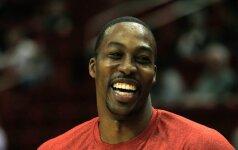 Nuliūdusi NBA žvaigždė D. Howardas išleido linksmą vaizdo klipą