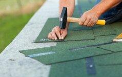 Bituminių čerpelių stogas: privalumai ir trūkumai