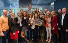 A. Sabonis susitiko su Lietuvos 18-mečių merginų rinktine